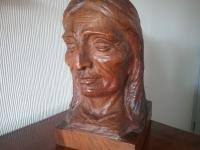 Native American Indian Wooden Carving (2 of 4)