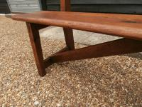 Late 19th Century Pine Bar Back Bench (7 of 12)