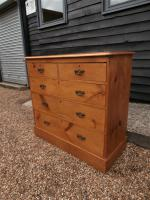Outstanding 19th Century Pine Large Chest of Drawers (2 of 12)
