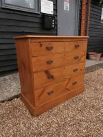 Outstanding 19th Century Pine Large Chest of Drawers (3 of 12)