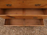 Outstanding 19th Century Pine Large Chest of Drawers (9 of 12)