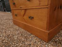Outstanding 19th Century Pine Large Chest of Drawers (11 of 12)