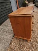 Outstanding 19th Century Pine Small Farmhouse Style Chest of Drawers (5 of 12)