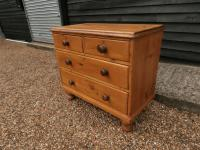 Outstanding 19th Century Pine Small Farmhouse Style Chest of Drawers (2 of 12)
