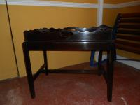 Mahogany Butlers Tray on Stand