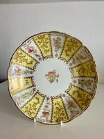 Very Pretty Antique Cauldon Pottery Dish Hand Painted with Gold Detail