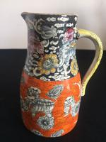 Graduated Pair of Masons Jugs in the Rare Bandana Pattern, Chinoiserie, 1840 (14 of 14)