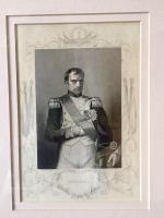 Napoleon Portrait Engraving Etching Framed after Count D'Orsay c.1850 (3 of 6)