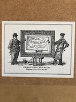 """Napoleon Engraving """"the Rock At St Helena"""" Framed circa 1860 After Delaroche (3 of 6)"""