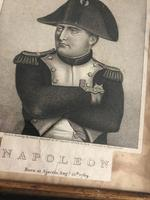 Napoleon Bonaparte Engraving after Louis Lacoste 1774-1837 c.1815, Framed (3 of 5)