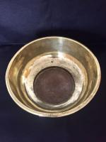 Large 18th Century Dutch Colonial Indonesian Brass Bowl (2 of 10)