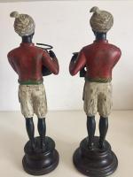 Pair of Art Deco Style Blackamoor Nubian Figurine Candlesticks (4 of 8)