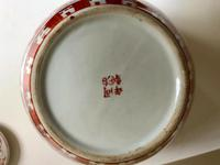 Fine 19th Century Porcelain Chinese Ginger Jar Iron Red Pattern of Tongzhi Period (2 of 5)