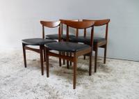 1970'S Mid Century Extending Dining Table and 4 Chairs (7 of 8)