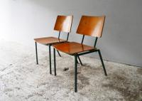 1970s Danish Stacking Chairs by Mh Stalmobler A/S (3 of 9)