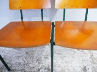 1970s Danish Stacking Chairs by Mh Stalmobler A/S (9 of 9)