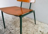 1970s Danish Stacking Chairs by Mh Stalmobler A/S (2 of 9)