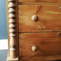 Victorian Pine Scottish Chest of Drawers (8 of 10)