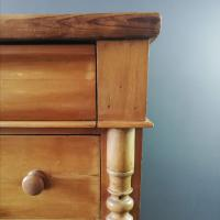 Victorian Pine Scottish Chest of Drawers (9 of 10)