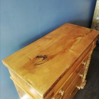 Victorian Pine Scottish Chest of Drawers (6 of 10)