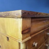 Victorian Pine Scottish Chest of Drawers (10 of 10)