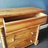 Victorian Pine Scottish Chest of Drawers (2 of 10)