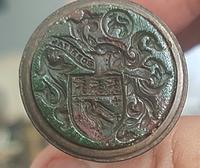 Rare & Beautiful Georgian French Bronze and Pink Jewels Column Intaglio Wax Seal (8 of 10)