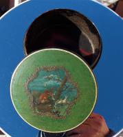 Georgian 18th Century Vernis Martin Fox & Hare Faux Tortoise Shell Snuff Box (2 of 12)