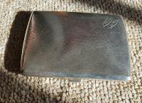 Rare Beautiful Austrian Export Solid Silver Bark Effect Cigarette / Card Case c.1900 (10 of 11)
