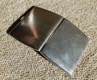 Rare Beautiful Austrian Export Solid Silver Bark Effect Cigarette / Card Case c.1900 (8 of 11)