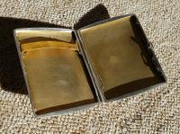 Rare Beautiful Austrian Export Solid Silver Bark Effect Cigarette / Card Case c.1900 (9 of 11)