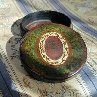 Rare Unique French Louis XV 18th Century Vernis Martin Hand Painted Snuff Box c.1770 (4 of 12)