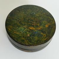 Rare Unique French Louis XV 18th Century Vernis Martin Hand Painted Snuff Box c.1770 (6 of 12)