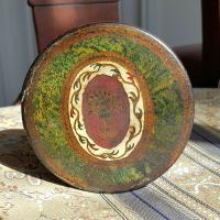 Rare Unique French Louis XV 18th Century Vernis Martin Hand Painted Snuff Box c.1770 (9 of 12)