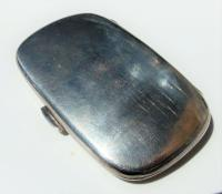 Stunning Edwardian William Neale Solid Silver Oval Cigarette Case (8 of 11)