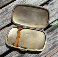 Stunning Edwardian William Neale Solid Silver Oval Cigarette Case (3 of 11)