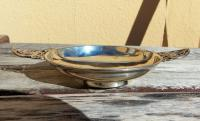 Charming  Josiah Williams Solid Silver Two Handled Circular Butter Dish 1915 (3 of 7)