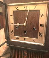 Scarce and Exquisite  'Art Deco' German Westminster Chiming Granddaughter Clock by Haller (8 of 8)