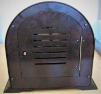 Delightful Late 1940s Bakelite Mantel Clock by Enfield (4 of 5)