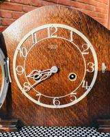 Outstanding 1950 English Striking Mantle Clock by Smiths-Enfield. (2 of 8)