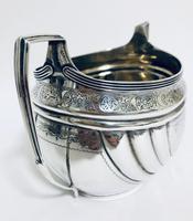 Antique Georgian Solid Silver Sugar Basin Bowl (8 of 12)