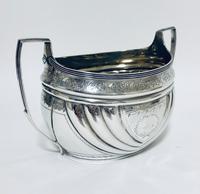 Antique Georgian Solid Silver Sugar Basin Bowl (12 of 12)