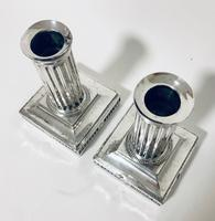 Pair of Antique Victorian Silver Candlesticks (9 of 15)