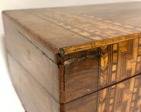 Antique Victorian Tunbridge Ware Writing Slope Box (17 of 17)