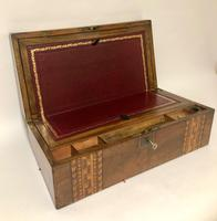 Antique Victorian Tunbridge Ware Writing Slope Box (11 of 17)