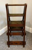 Antique Victorian Mahogany Metamorphic Library Step Chair (5 of 15)
