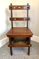 Antique Victorian Mahogany Metamorphic Library Step Chair (8 of 15)