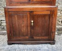 Large Georgian Oak Floorstanding Corner Cupboard (15 of 25)