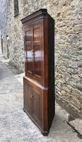 Large Georgian Oak Floorstanding Corner Cupboard (4 of 25)