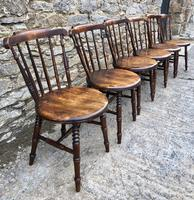 Set of 6 Antique Penny Chairs (5 of 11)